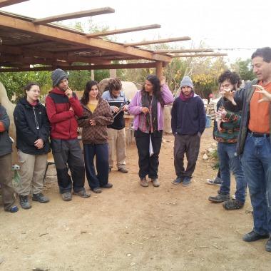 T.H. Culhane describes the biogas digestor construction process