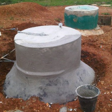 maintainance of  the biogas plant