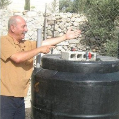First Bio-Gas Digester In Palestine.