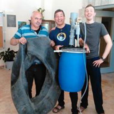 Solar CITIES' Palestinian Pickle Barrel Biodigester